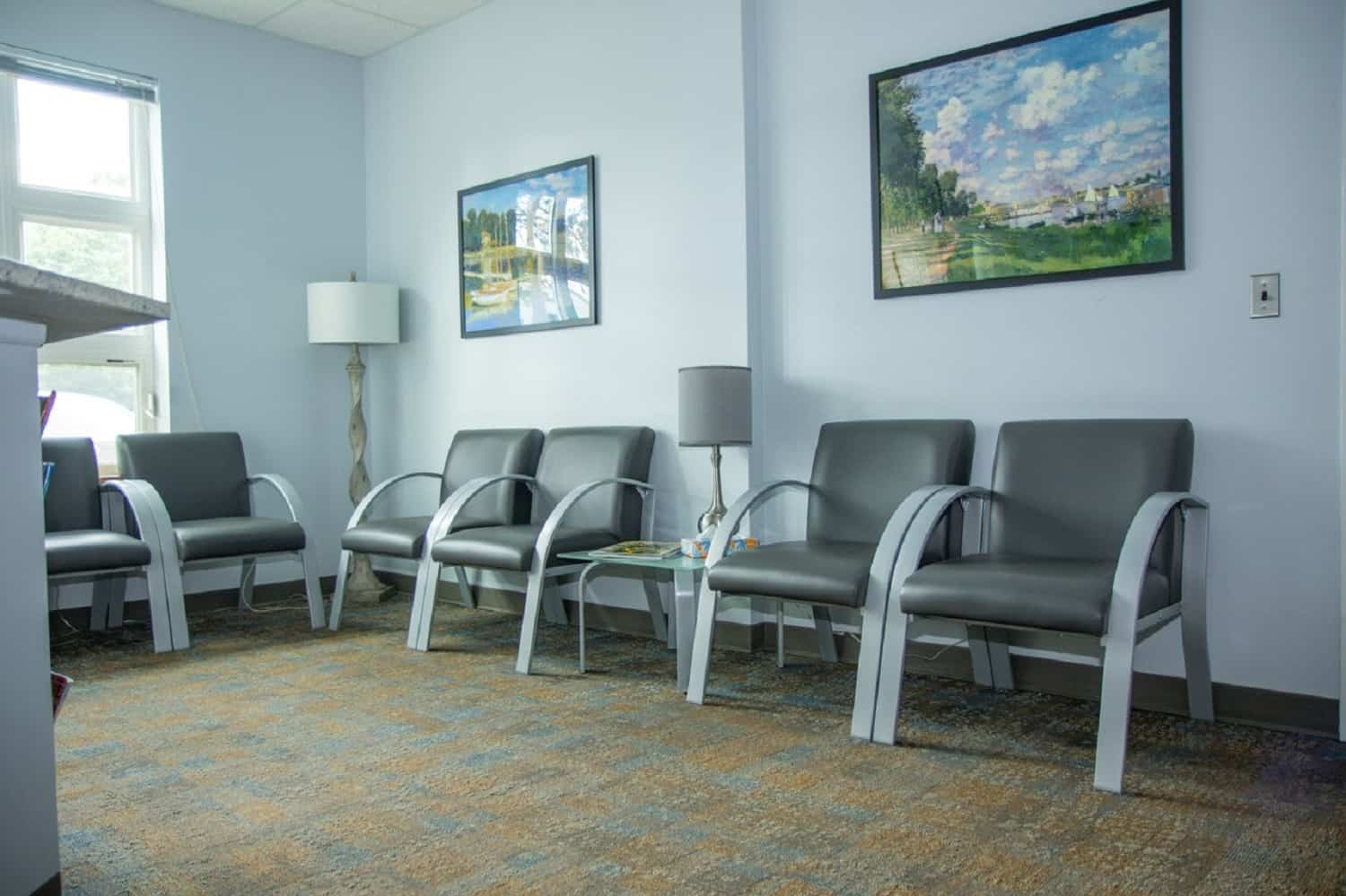 reception seating area - Dr. Jack T. Kayton in Charlottesville