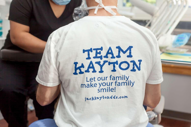team Kayton tshirt