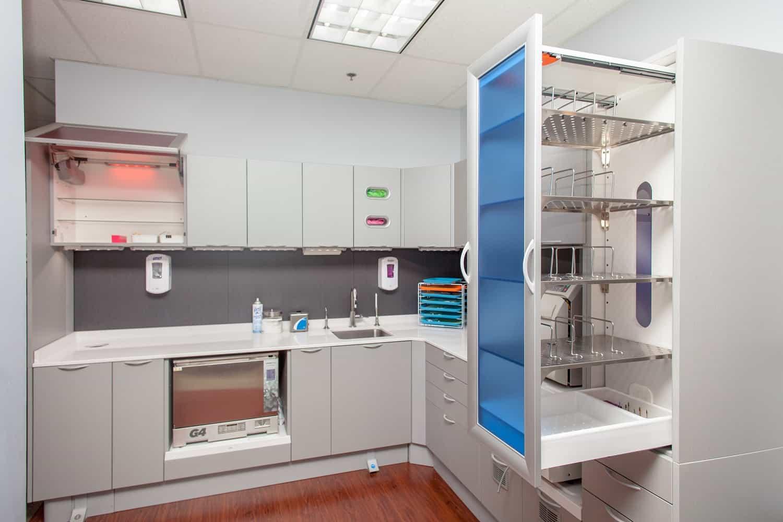 sterilization area open
