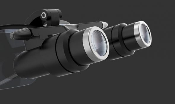 Lupa binocular kepler