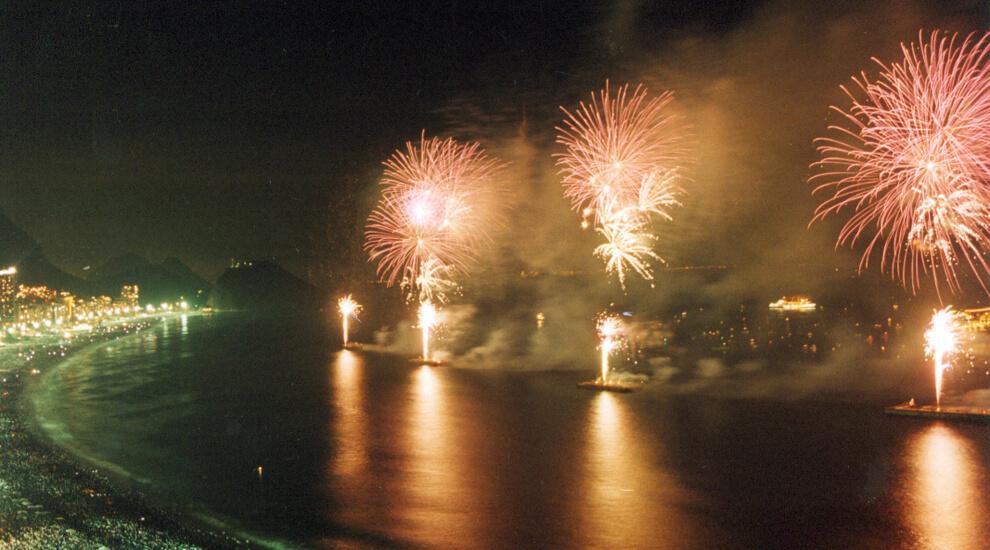 capodanno rio de janeiro e brasile