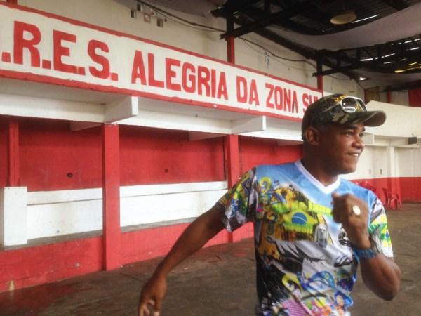 Alegria da Zona Sul: il mestre samba per noi