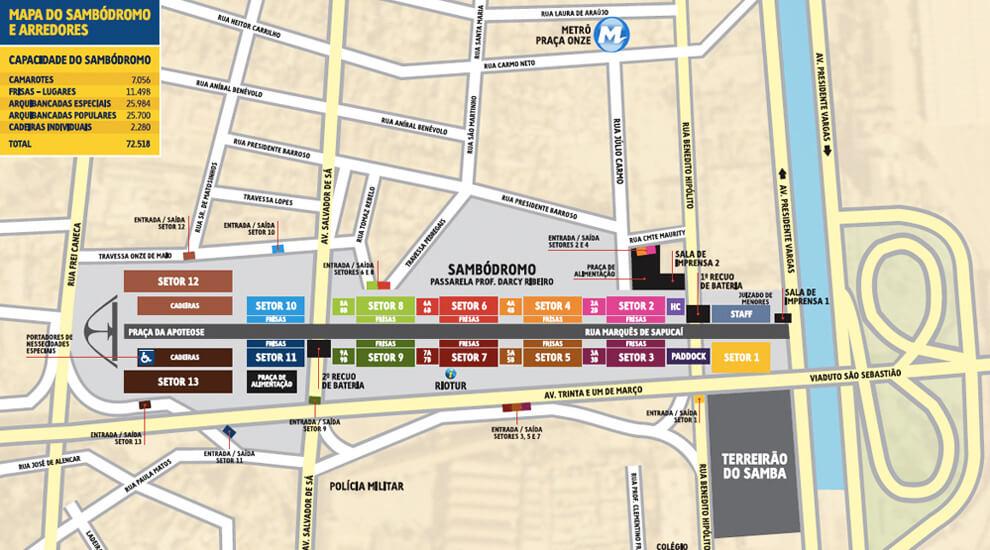 mappa-sambodromo-rio-de-janeiro