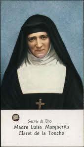 Risultato immagine per Madre Luisa Margherita Claret de la Touche Serva di Dio