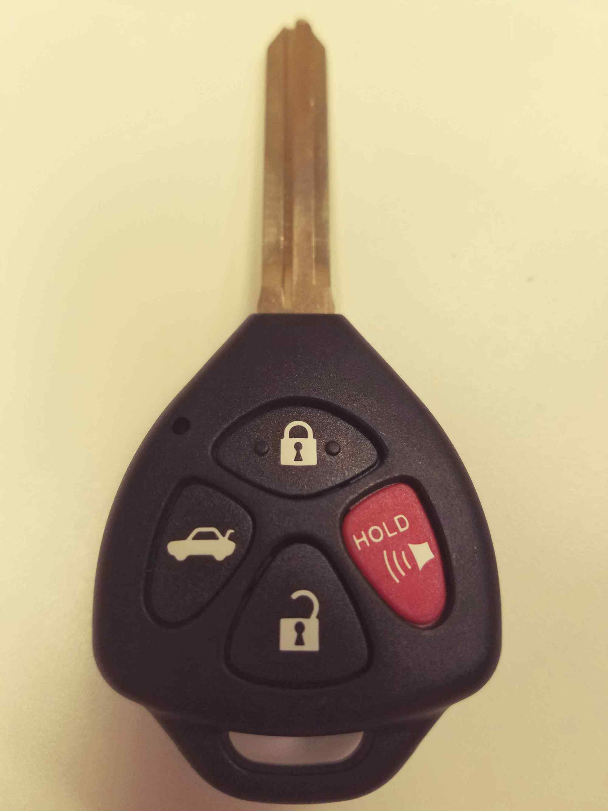 hight resolution of toyota corolla key