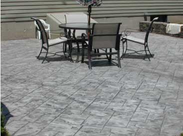 Gentil Stamped Denver Concrete Patio