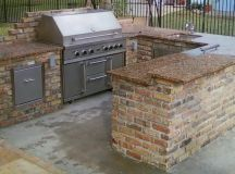 BBQ Islands Contractor | Denver Custom Outdoor Kitchen Masonry
