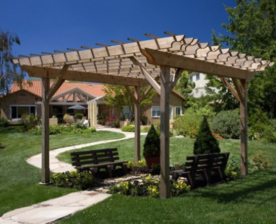 Denver Custom Pergolas Can Have Roofs Now.