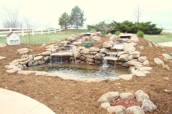 Landscaping Mulch Denver : Landscape gallery denver decorative concrete custom masonry