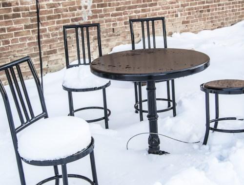 In Denver this week...snow tomorrow