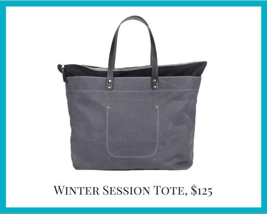 Local Colorado gifts Winter Session tote