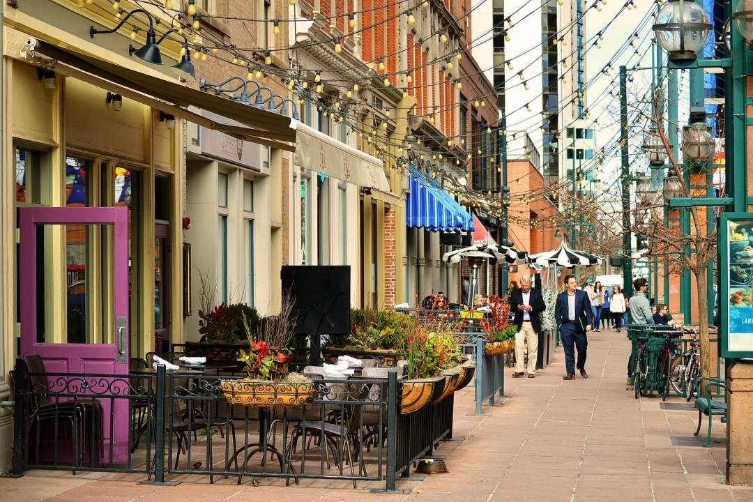 Denver women's boutiques Larimer Square