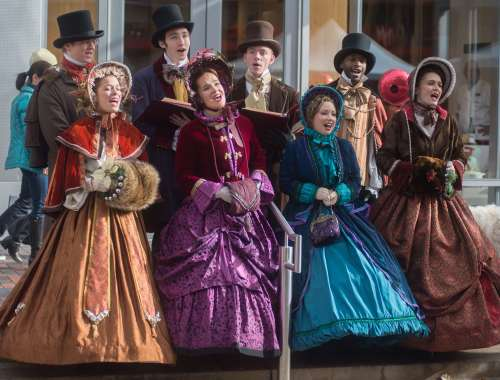 Things to do in Denver in December 2017 Cherry Creek North Winterfest carolers