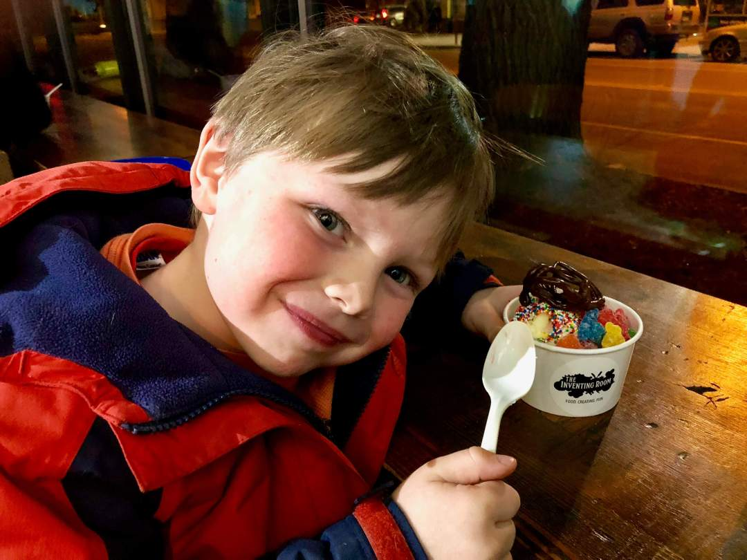 Valentine dates with kids in Denver -- The Inventing Room