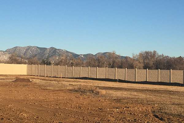 large fence A Straight Up Fence Company Denver