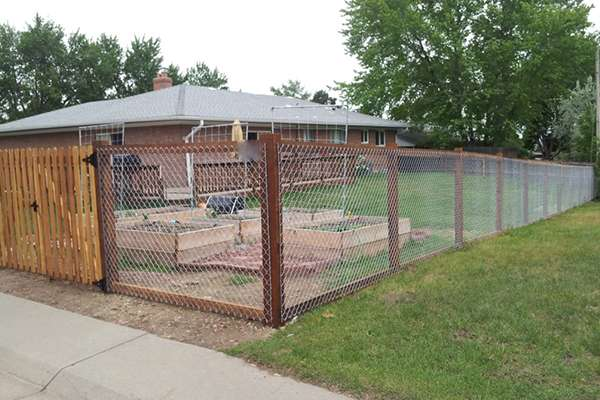 mesh fence A Straight Up Fence Company Denver