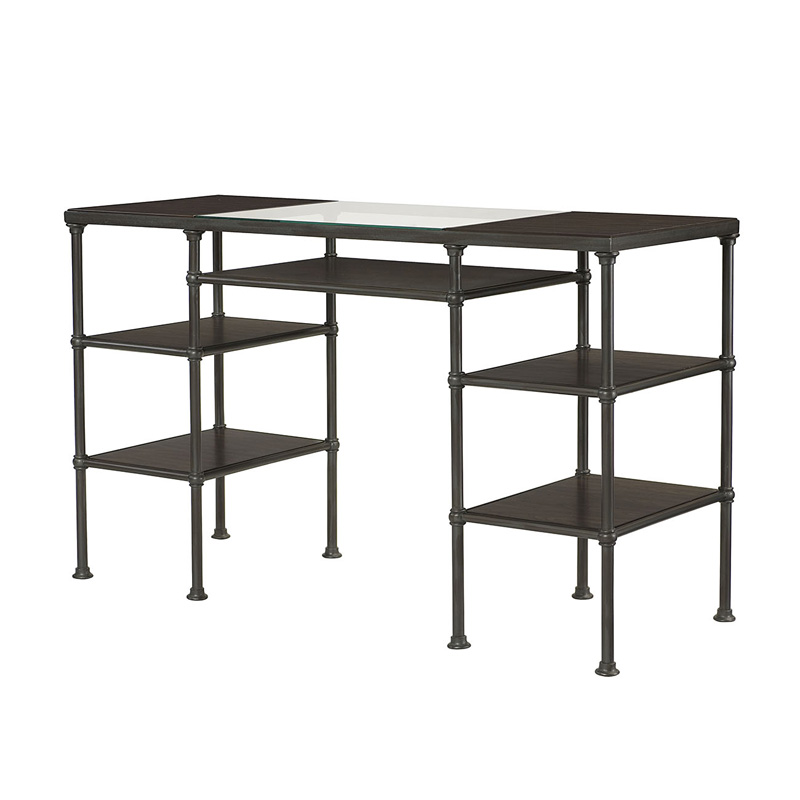 Counter Height Steel Desk 400100 Home Office Hammary