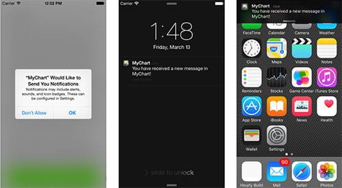 Push notifications mychart app also patient portal denver health rh denverhealth