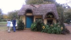 Dallas Arboretum - artists houses