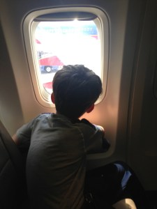 For kids, air travel is an adventure