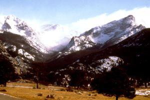 Image of estes park colorado landscape