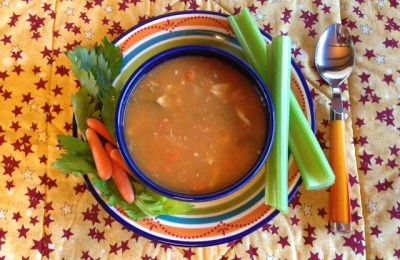 Hearty Buffalo Chicken Soup Warms the Body and Soul