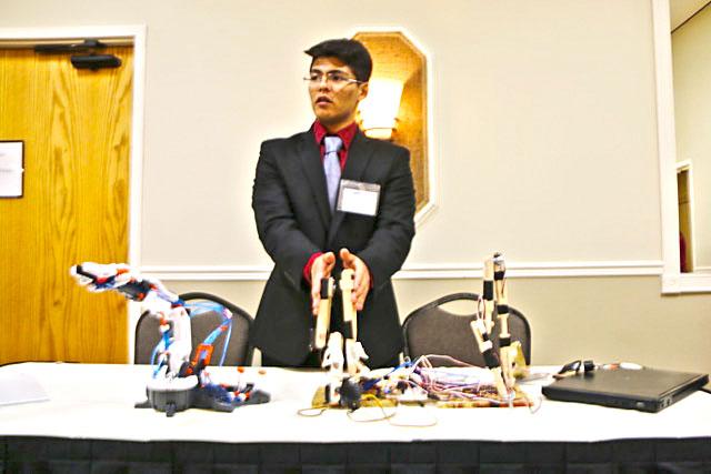 High School Robotics Project Contestant