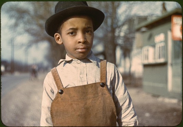 Young African American boy. Cincinnati, Ohio, 1942 or 1943. Prints and Photographs Division, Library of Congress