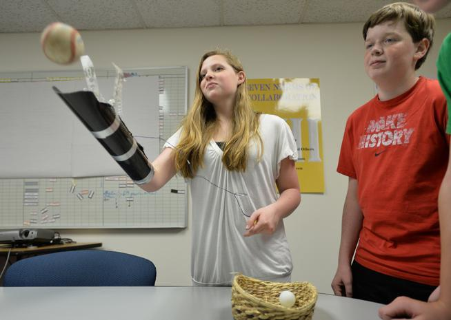 Broomfield students build prosthetic arm earn trip to