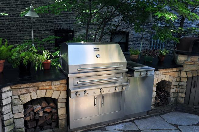 how to make an outdoor kitchen rugs sets kitchens 10 things you need yours fabulous the a kalamazoo illustrates some of company s principles design namely room around grill storage space for wood