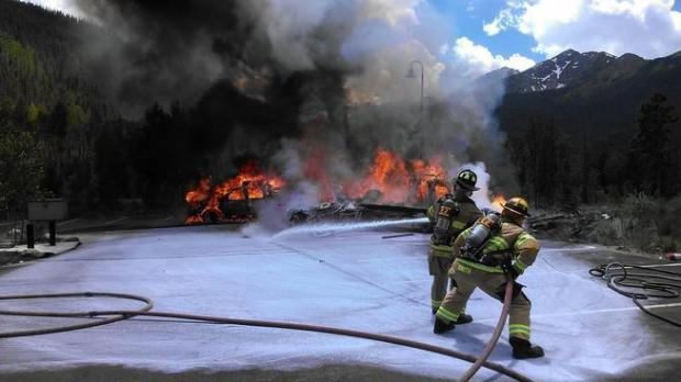 A Flight for Life helicopter crashed ...