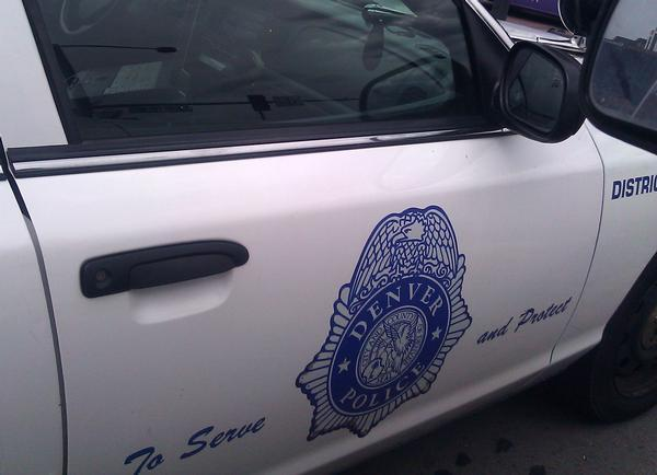 A Denver Police cruiser is pictured in this 2012 file photo.