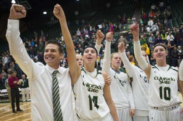 Colorado State coach Ryun Williams and the Rams are closing in on the Mountain West regular-season title.
