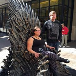 S Chair Replica Dining Table Chairs Fit Underneath How You Can Take Your Picture On The Iron Throne In Denver Ahead Of 'game Thrones' Season 6 ...