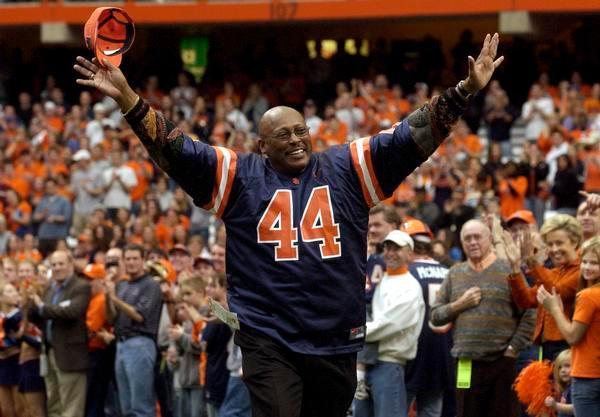Former Syracuse and Denver Broncos running ...