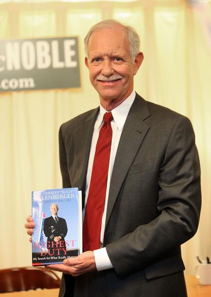 "Capt. Chesley ""Sully"" Sullenberger talks about his academy days in his book."