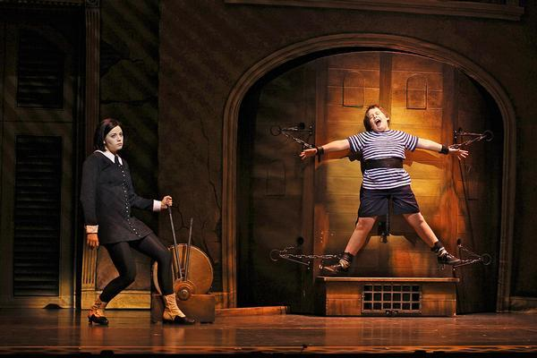Theater review More shallow than grave The Addams