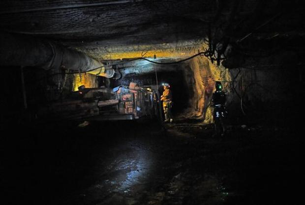 Workers mine for coal in the West Elk Mine near Somerset. Operators of the New Horizon coal mine in western Colorado shut down production earlier this month, dropping the number of active coal mines in Colorado to seven and the total employment to 995.