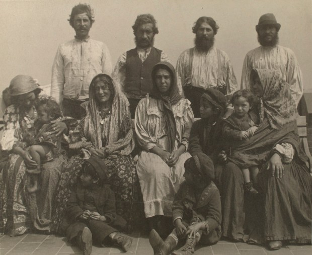 Serbian Gypsies. Photo courtesy of New York Public Library Digital Collections.