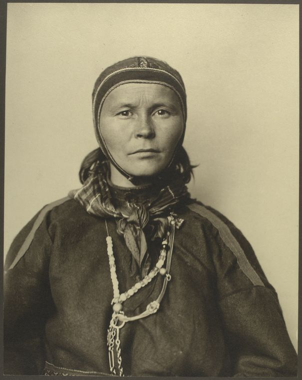 Laplander. Photo courtesy of New York Public Library Digital Collections.