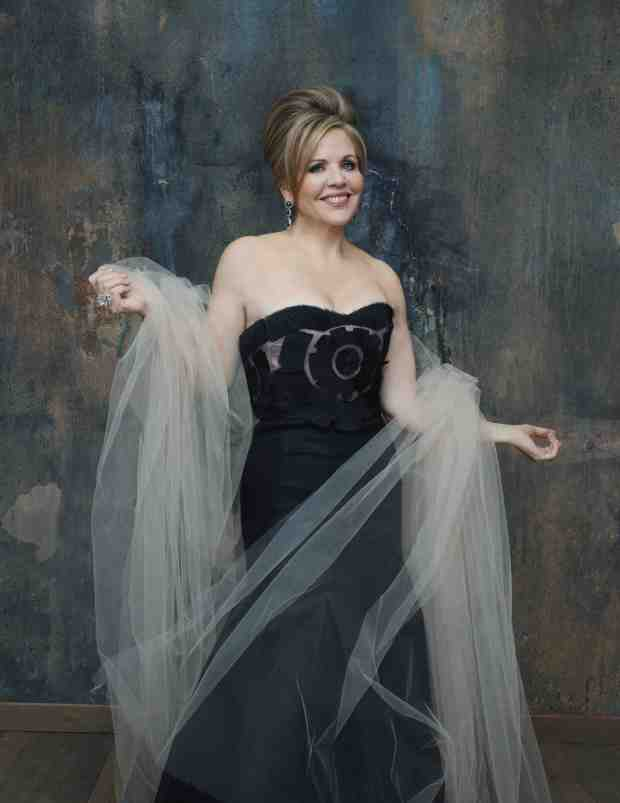 America's favorite soprano Renee Fleming performs at the Aspen Music Festival this summer.