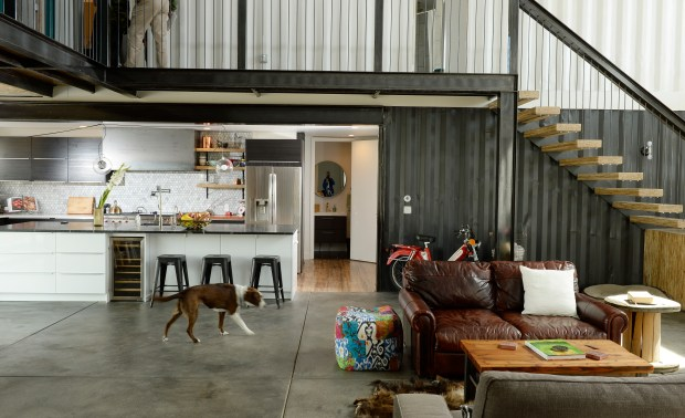 4000 square foot Colorado shipping container house PHOTOS