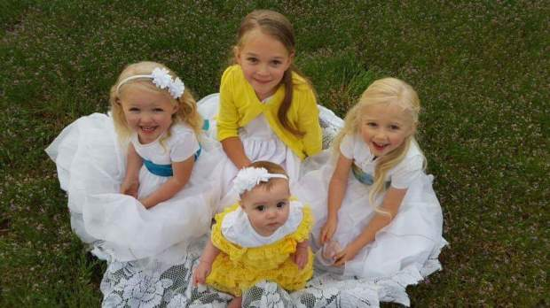 Steven and Christina Miller's children, as shown in this photo posted to a GoFundMe page created to cover funeral costs from the collision.