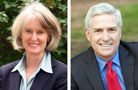 Beth McCann and Michael Carrigan are two of the three Democratic candidates vying to replace Mitch Morrissey as Denver's district attorney.