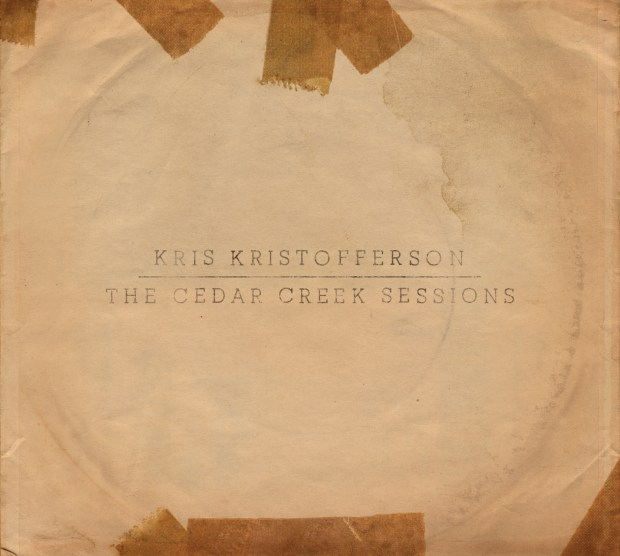 "This CD cover image released by KK Records shows, ""The Cedar Creek Sessions,"" a release by Kris Kristofferson."