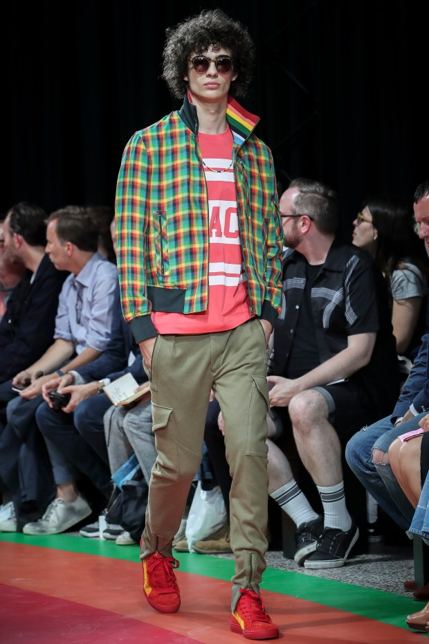 3bf6ec6b333 A design from Paul Smith s Men s Spring Summer 2017 fashion collection.
