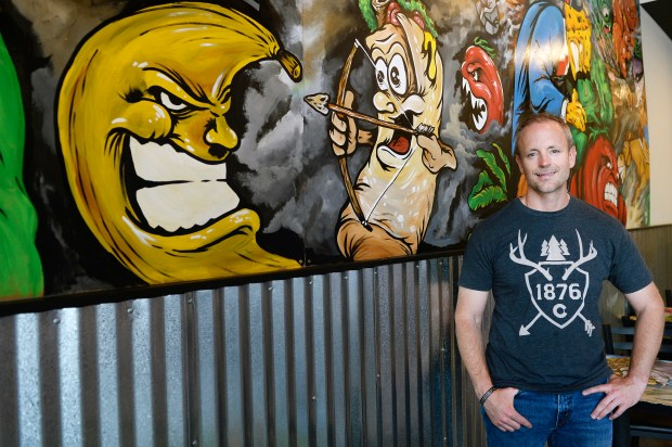 DENVER, CO - JUNE 17: Owner Kyle Fabra poses for a portrait at Fat Jack's Subs on June 17, 2016, in Denver, Colorado. Fat Jack's Subs has six locations in the Denver area, with a seventh location opening soon at the Auraria Campus. (Photo by Anya Semenoff/The Denver Post)