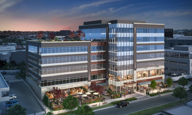 Schnitzer West and J.P. Morgan Asset Management have broken ground on a seven-story office development at 250 Fillmore St. in Denver's Cherry Creek North neighborhood.