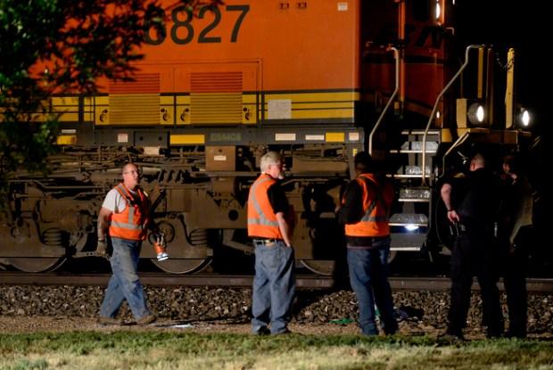 Longmont Man Loses Leg When Hit By Train