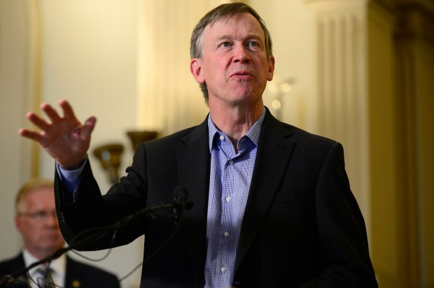 Gov. John Hickenlooper's five-page order anticipates an average temperature spike of 2.5 to 5 degrees by 2050, following a 2.5-degree spike since 1966. (Denver Post file)